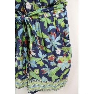 Tory Burch Pants - Tory Burch Floral V Neck Sleeveless Romper